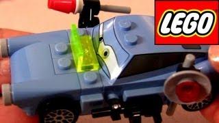 Lego Finn McMissile Cars 2 How-to Build Disney Pixar