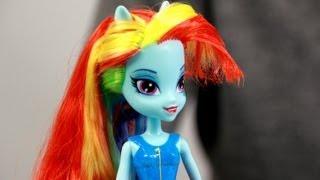 Rainbow Dash Doll / Lalka Rainbow Dash Equestria Girls