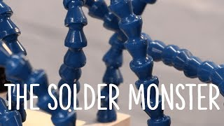 Watch the Trade Secrets Video, The Solder Monster's long arms reach into your guitar cavity