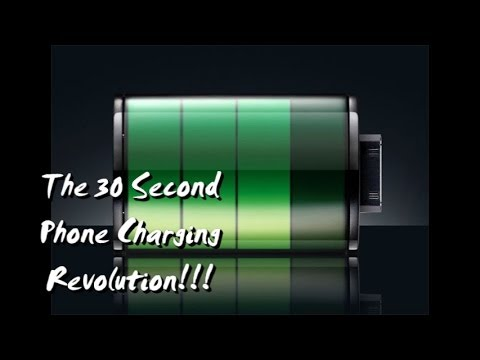 Dead No More: The 30 Second Charging Revolution - The Future This Week