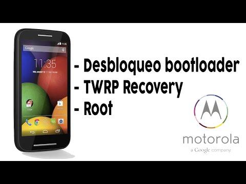 Moto E - Desbloquea bootloader + TWRP Recovery + Root