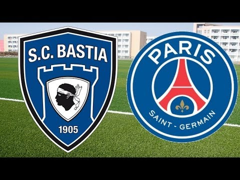 Bastia VS PSG 0-3 All Goals + Highlights (08/03/2014)