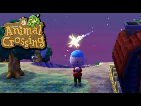 Animal Crossing: New Leaf - Meteor Wish (Nintendo 3DS Gameplay Walkthrough Ep.38), Today we learn our spirit furniture, pick up our babyface, load up on turnips, get some lucky balloons, peep what secrets Avery keeps, play the traditional m...