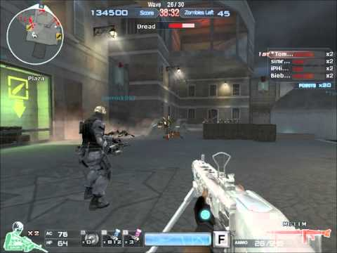 Crossfire NA/UK - Zombie Mode - Venice - Boss beaten (/w Mod Simrock007)