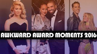 10 Most AWKWARD Award Show Moments of 2016