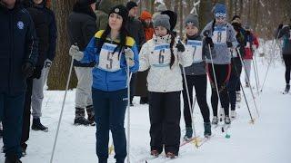 Відбулася першість університету з лижних гонок