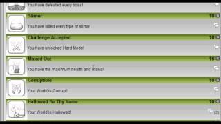 Terraria Xbox 360 All Achievements Achievement Guide