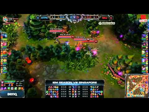 [IEM8] [Singapore] [Tứ Kết 2] [Game 1] Azubu Taipei Assassins vs Saigon Jokers [29.11.2013]