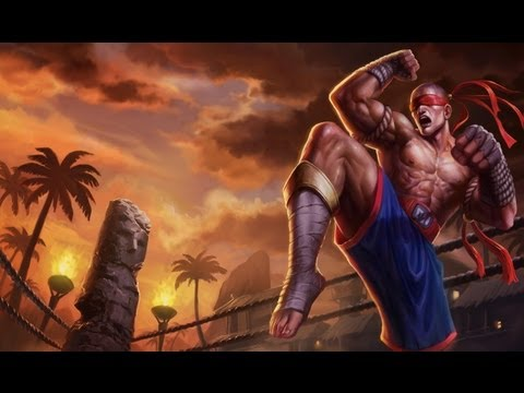 League of Legends Muay Thai Lee Sin Jungle Gameplay
