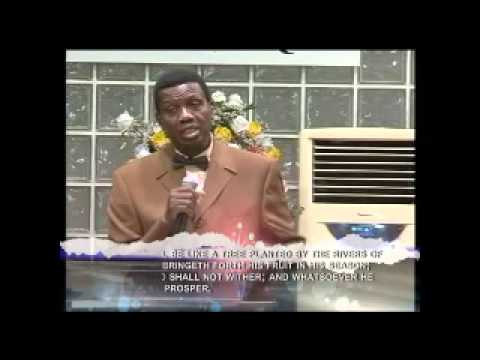 SECRET OF SUCESS by Pastor E. A. Adeboye