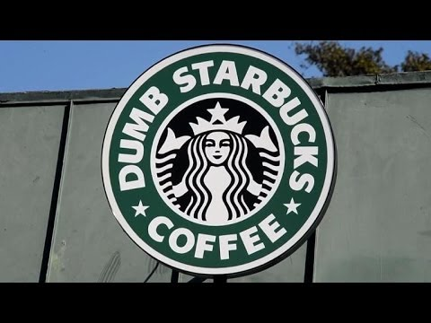 'Dumb Starbucks' coffee shop opened in Los Angeles