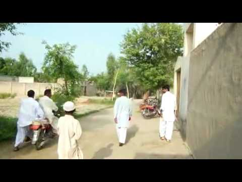 Resetting the Indus Punjab:Walk to the Musjid for eid prayers_ through Basti Kurai(20th Aug,2012) ::
