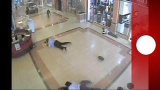 Dramatic new CCTV footage reveals horror of Kenya mall massacre