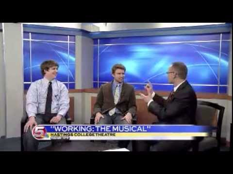 News 5 at 11:30 - Hastings College Theatre Interview / January 31, 2014