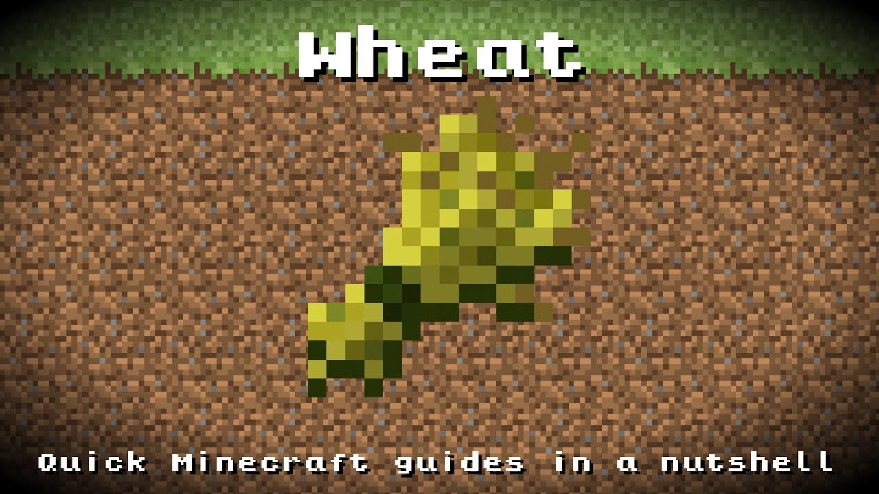 Minecraft Wheat Minecraft - Wheat! Rec...