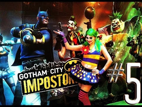 PS3 Gotham City Impostors - Part 5 -The Sword Is Cheap w/ SoooMungry