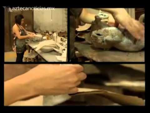 Artesanías creadas con papel mache
