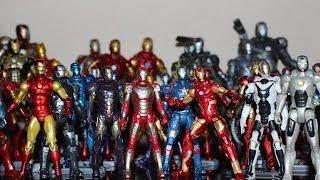 Minha Coleção De Bonecos Do Homem De Ferro E Dos