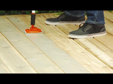 Comment Teindre une Terrasse (6 étapes)