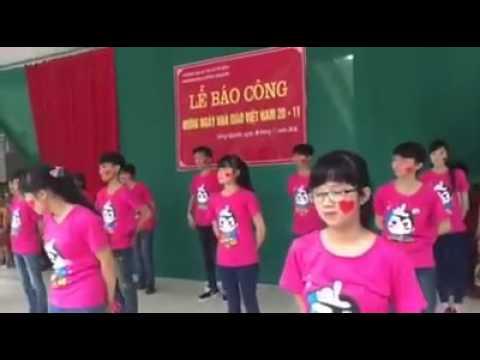 Nhảy Flashmob Việt Nam ơi , Year 3x ( chi đội 9b )