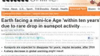 """Earth Facing Mini Ice Age!!"" Say The Media"
