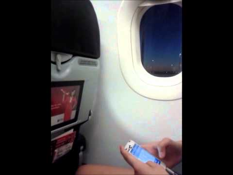 Airasia Flight QZ 8417 perth-bali