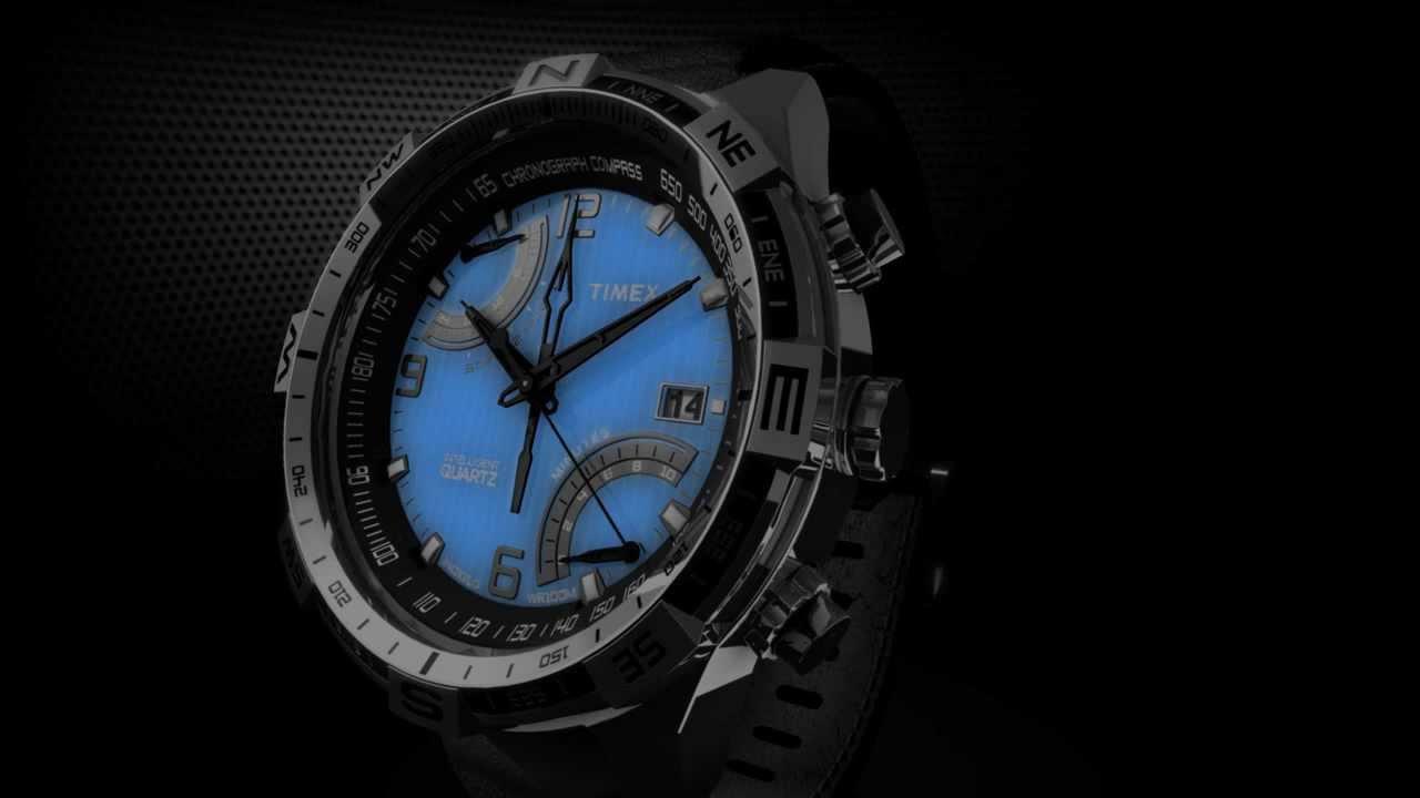 Timex Intelligent Quartz Flyback Chronograph Compass
