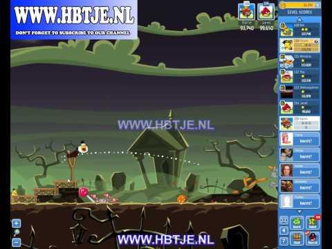 Angry Birds Friends Tournament Level 6 Week 76 halloween (tournament 6) no power-ups