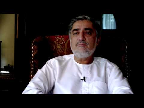 Dr. Abdullah Abdullah says Afghan leadership is key to the country's future