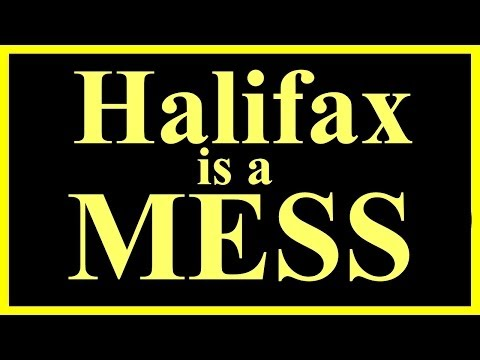 Halifax is a MESS Argyle and Sackville Rds