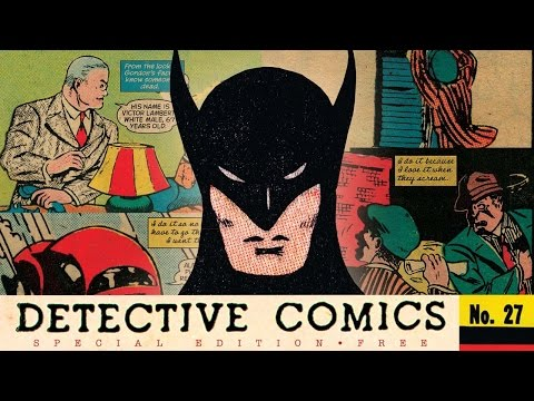 Chip Kidd Remixes Batman's First Story
