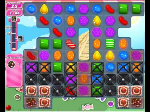 How to pass Candy Crush Saga Level 335 - YouTube