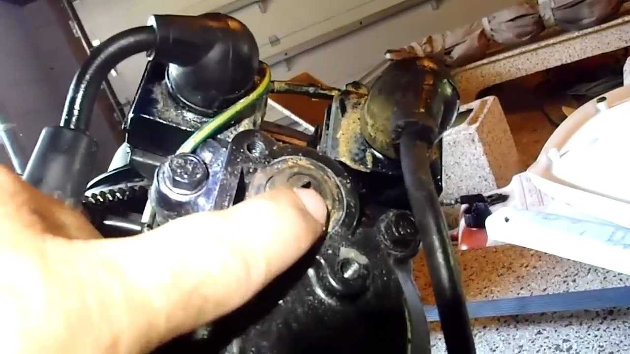 15 hp Mercury Thermostat Installation YouTube