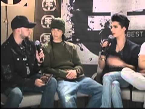Interview Tokio Hotel (2011) by Claudio Rodriguez Telehit