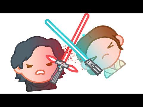 Star Wars The Force Awakens as told by Emoji | Disney