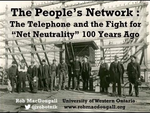 The People's Network: The Telephone and the Fight for