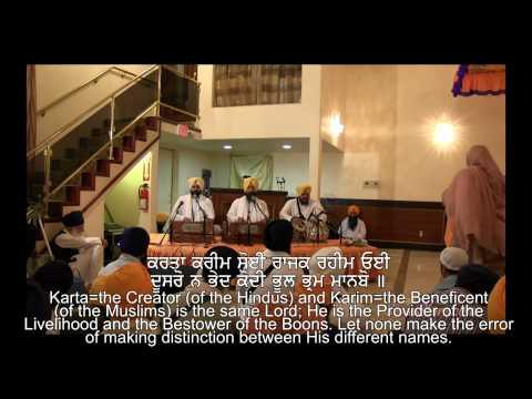 Maanas Kee Jaat Sabae Eaekae Pehicanbo Bhai Baldev Singh Vadala; April 09, 2012; Stockton