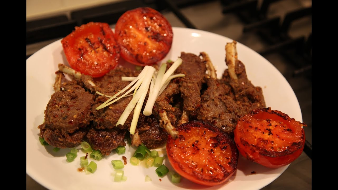 "Spicy Lamb Chops "" Bajias Cooking - YouTube"