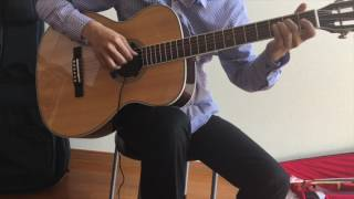 Now And Forever - Sten Le - Richard Marx (guitar fingerstyle cover)