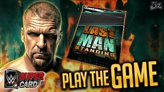 PLAY THE GAME - LAST MAN STANDING UPDATE!! NEW WRESTLEMANIA 34 PRO! | WWE SuperCard