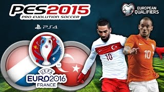 Hollanda Vs Türkiye ★ UEFA EURO 2016 FRANCE ★ European