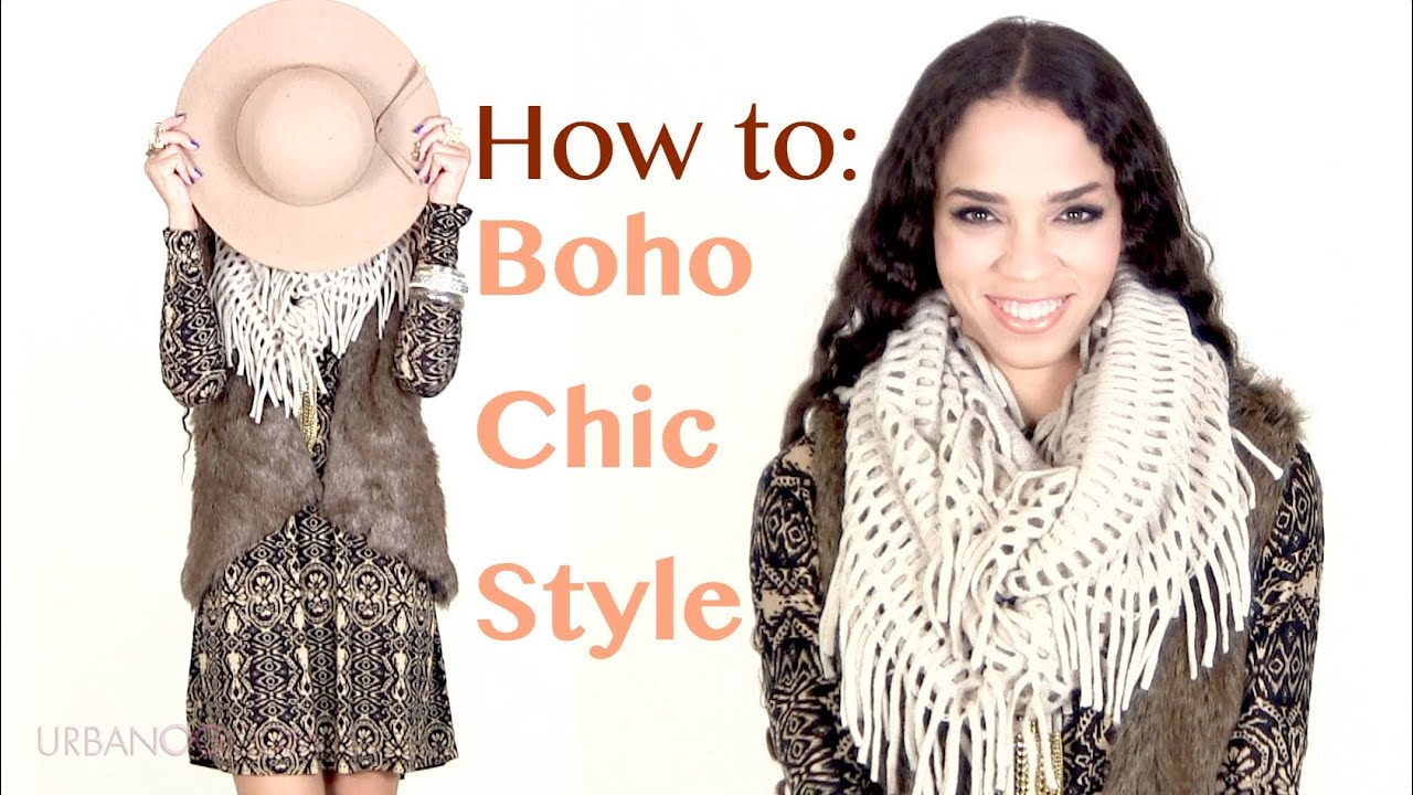 Fall Winter Fashion Tips Boho Chic Outfit Ideas Bohemian Style Outfits Youtube