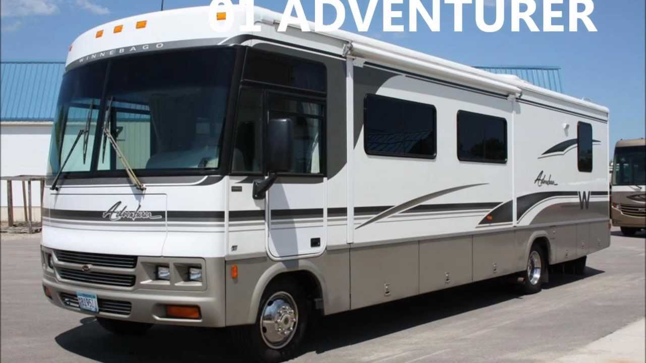 New The Winnebago Adventurer Class A Coach Is Winnebagos Luxurious And Affordable RV Four Floor Plans Allow You To Choose The Adventurer That Most Meets Your Style If Youre Looking For A Luxurious Travel Experience, The Winnebago