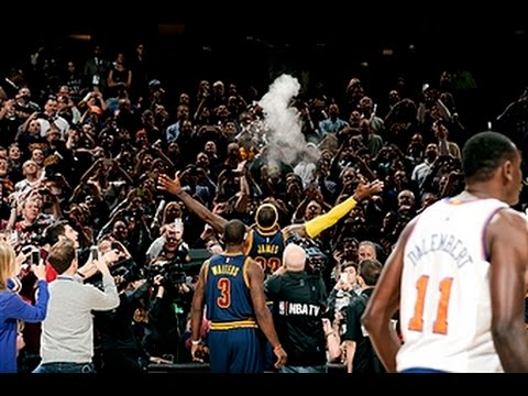 Lebron and The Chalk Toss are Back in Cleveland