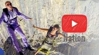 Skydiving in Stilettos! | YouTube Nation | Wednesday