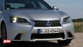 Lexus GS 450h Hybrid extreme test drive videos