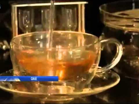 В одной из кофеен ОАЭ подают чай с 22-каратным золотом - ОАЭ 2013