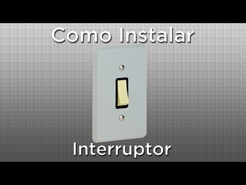 Como instalar um interruptor