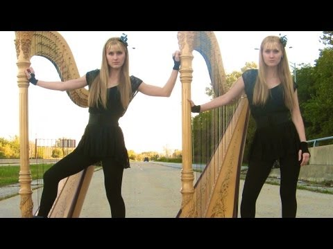 BON JOVI - It's My Life (Harp Twins) Camille and Kennerly, Harp Duet