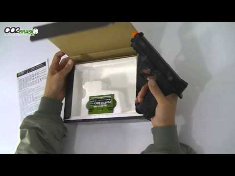 Pistola de Airsoft Smith Wesson MP40   Spring
